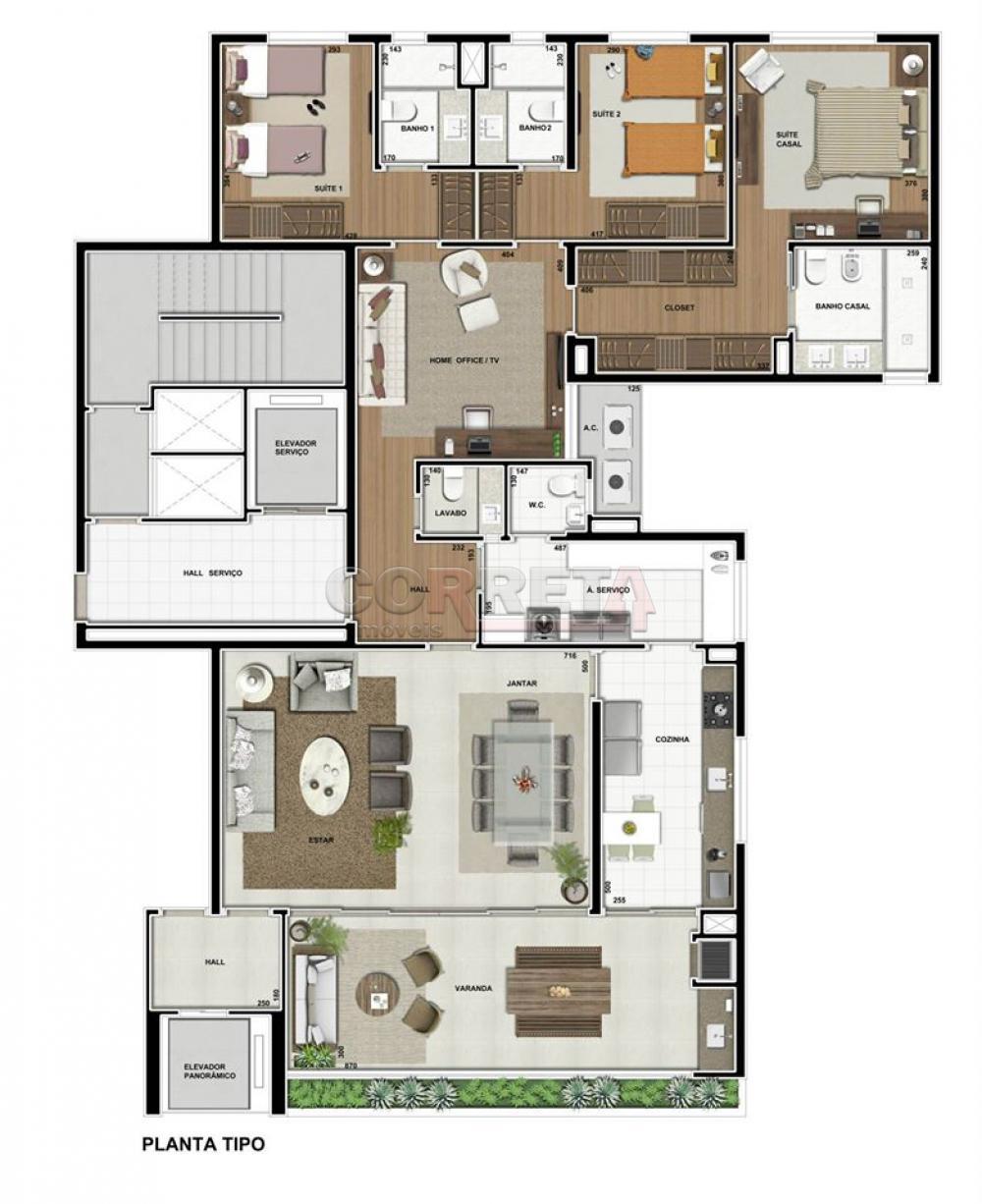Comprar Apartamento / Padrão em Araçatuba apenas R$ 1.200.000,00 - Foto 4