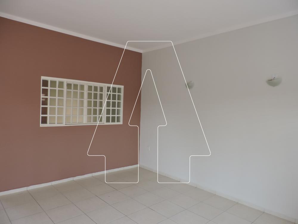 Aracatuba casa Locacao R$ 1.050,00 2 Dormitorios 1 Suite Area do terreno 150.00m2 Area construida 100.00m2
